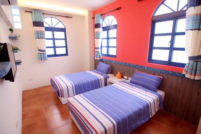 二張單人床房型